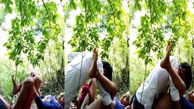Bihari outdoor sex MMS video leaked online