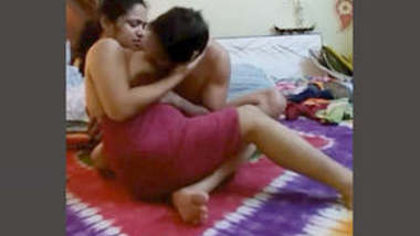 Desi Cheating Wife With Lover New Leaked MMS Part 1