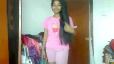 Srilankan Babe in Bra Panty