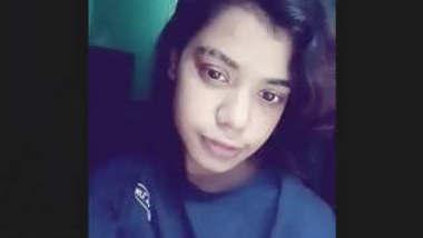 Beautiful Cute Bangladeshi Girl Showing
