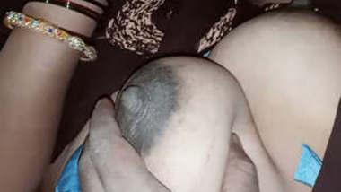 Tamil Husband Pressing Wifr Boobs While Sleeping