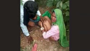 Village couple caught fucking outdoor