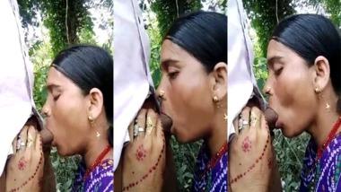 Dehati Bhabhi blowjob sex outdoor sex MMS