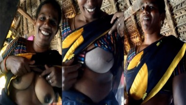 South Indian boobs show video
