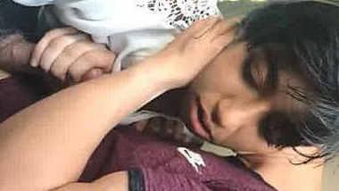 Pakistani hot girl sucking nri bf dick