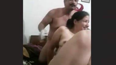 Horny couple full blowjob and romance