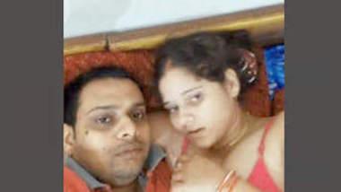 Desi Cute bhabhi with her husband 1