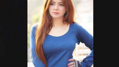 Pakistani Beautiful actress Rabi Pirzada Leaked Video Part 8