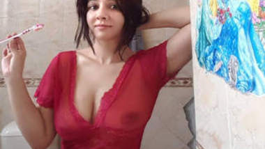 Pakistani Beautiful actress Rabi Pirzada Leaked Video 2