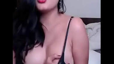 Bhabi live video call sex with boyfriend