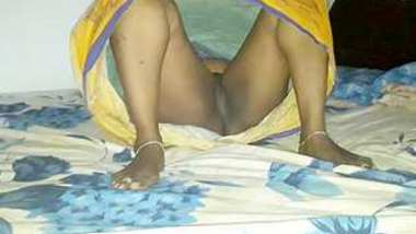 Desi village hot aunty show her pussy and hard fucking full