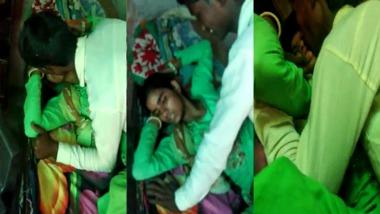 Dehati threesome sex video shot by a cuckold boyfriend