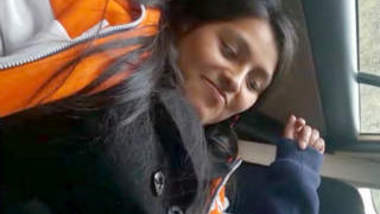 Desi babe Fucking in Car
