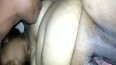 Chunky mature Indian pussy explored by young Indian boy