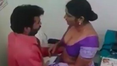 Lady Doctor Having Romance With Patient