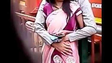 Desi lover spy romance in park