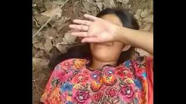 Desi village girl outdoor fucking