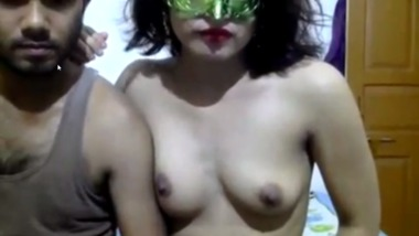 Famous Desi aunty Skype show with her lover
