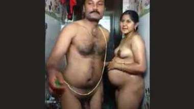Desi pregnent bhabi fucking her husband big brother