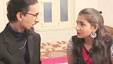 Desi village boudi fuck by father in low