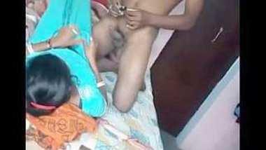 Desi village bhabi caught with her devar