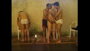 Group sex video between many girls and boys in swimming pool