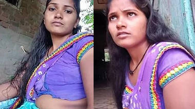hot village housewife bhabhi sanjana desai hot navel show