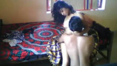 gorgeous girl friend mansi with lover at her home