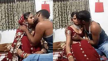 suhagraat bhabhi smooch boob press