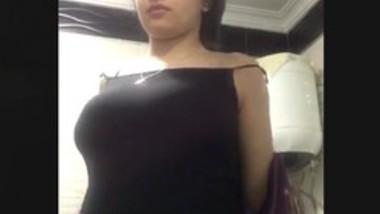 Beautiful nri girl show her boob