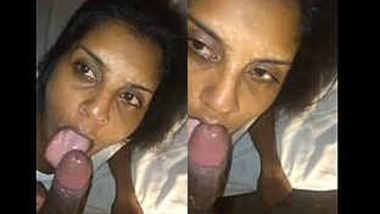 nri girl deepthroat blowjob doggy style fucking and cum swallowing