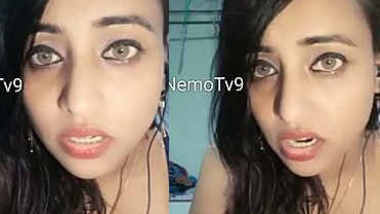 shilpi hot girl cleavage shown video call