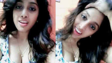 hot babe sonali wasthi milky cleavage navel show