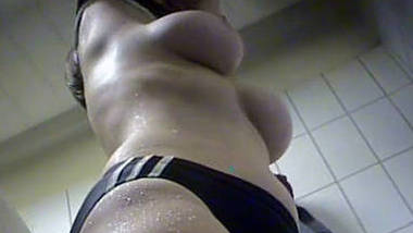 big boobs desi girl spying after shower