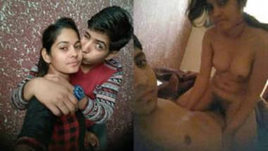 desi young couple kiss and romance video
