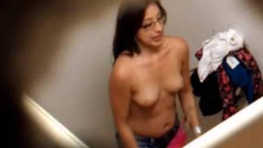Young girls hidden cam in dressing room
