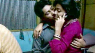 Indian couple kiss of payel and biprojit