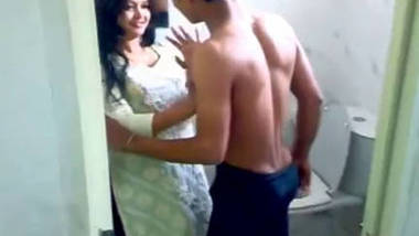 Sister enjoying with her boyfriend captured by her brother at home