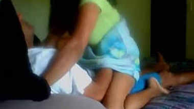 Indian Wife Rides Her Husband