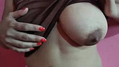 Huge Boobs Desi Girl Self Play Her Watermelon