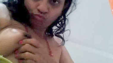 Cute desi alone wife exposing to young bf 1