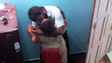 Amateur Mallu aunty illegal affair caught on secret cam 1