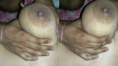 Desi boob press
