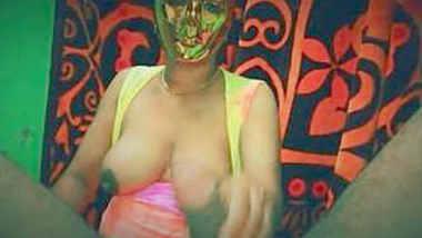 Pregnant Shweta Bahabi handjob and hard fucked by Hubby