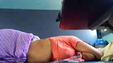 Desi Aunty Yummy Sleeping on Train Captured
