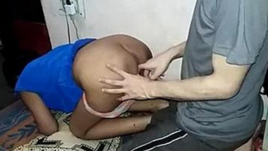 Blue top girl Fucked By Bf