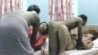 Desi husband affair with wife's sister hiddenly captured