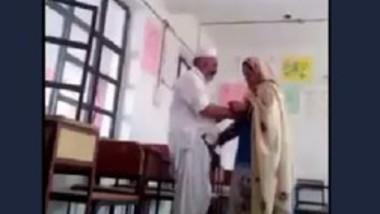 Paki school teacher romance with madam