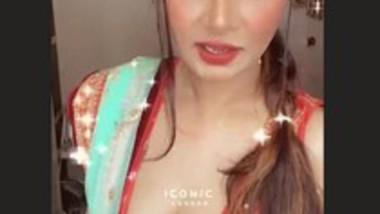 Aabha Paul Beautiful & Sexy Live