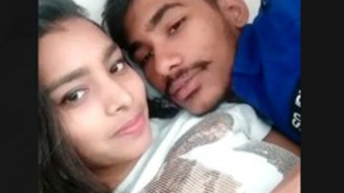 Young couple romance